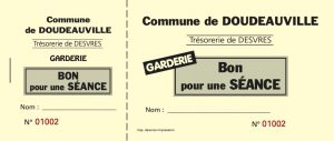 Mairie ticket garderie